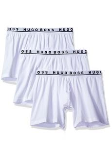 Hugo Boss BOSS Men's Cotton Stretch Boxer Brief Pack of 3