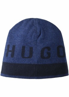 Hugo Boss BOSS Men's Ebrami Knitted Cap deep Blue