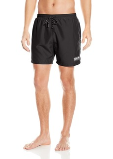 Hugo Boss BOSS Men's  Length Quick Dry Swim Trunks
