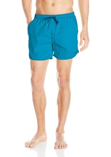 Hugo Boss BOSS Men's Lobster 5 Inch Solid Swim Trunk