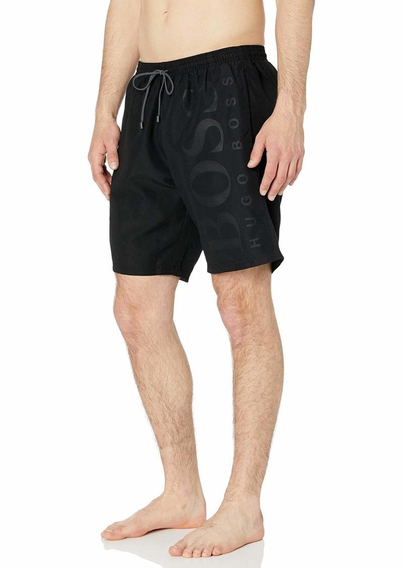 Hugo Boss BOSS Men's Long Length Quick Dry Swim Trunks