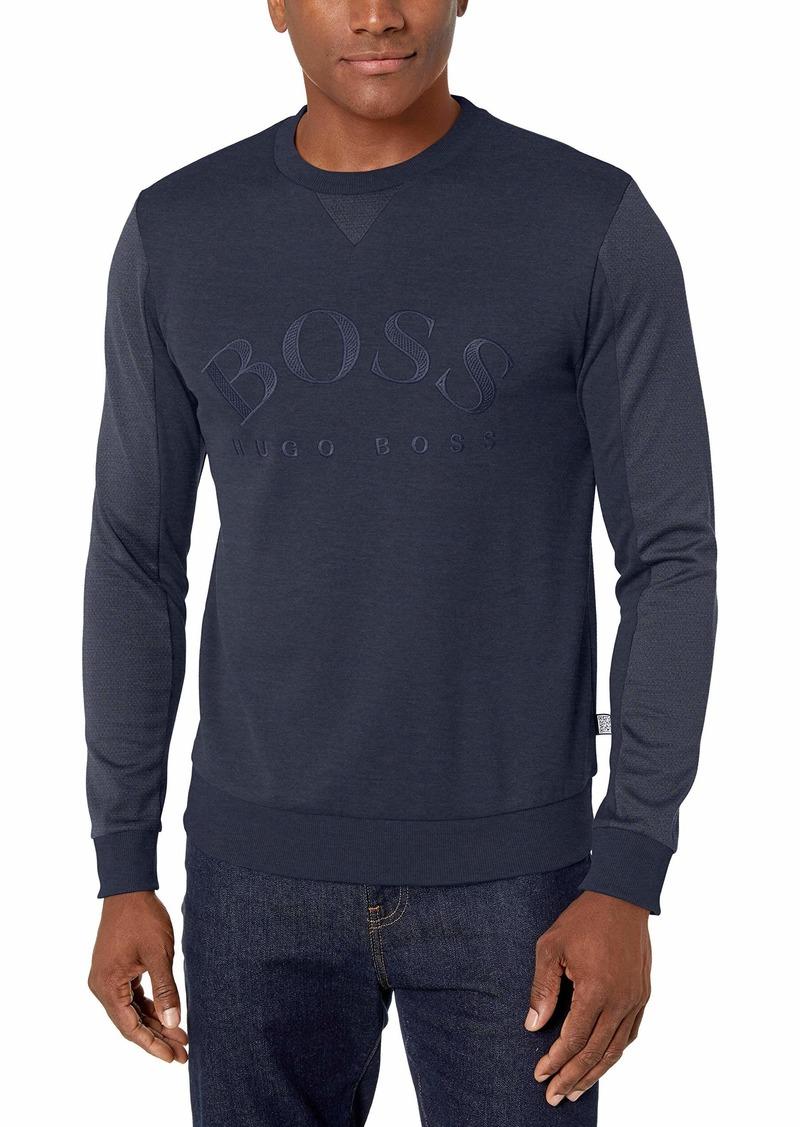 Hugo Boss BOSS Men's Salbo Long Sleeve Crewneck Sweatshirt  L
