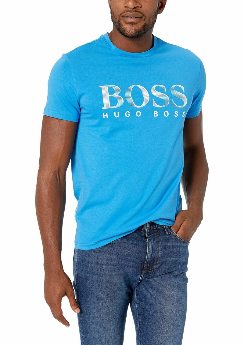 Hugo Boss BOSS Men's Short Sleeve Rashguard T-Shirt  L