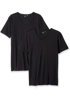 Hugo Boss BOSS Men's T-Shirt Vn 2p Co/El 10194356 01