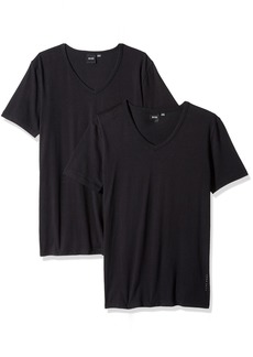 Hugo Boss BOSS Men's T-Shirt Vn 2p Co/el 10194356 01