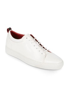 HUGO BOSS Casual Lace-Up Leather Sneakers