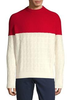 88b4e9da7 On Sale today! Hugo Boss BOSS Banello Quarter-Zip Virgin Wool ...
