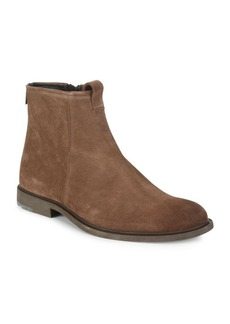 HUGO BOSS Cultroot Leather Ankle Boots