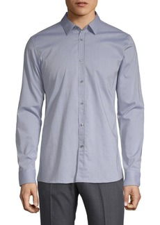 Hugo Boss Elisha Cotton Button-Down Shirt