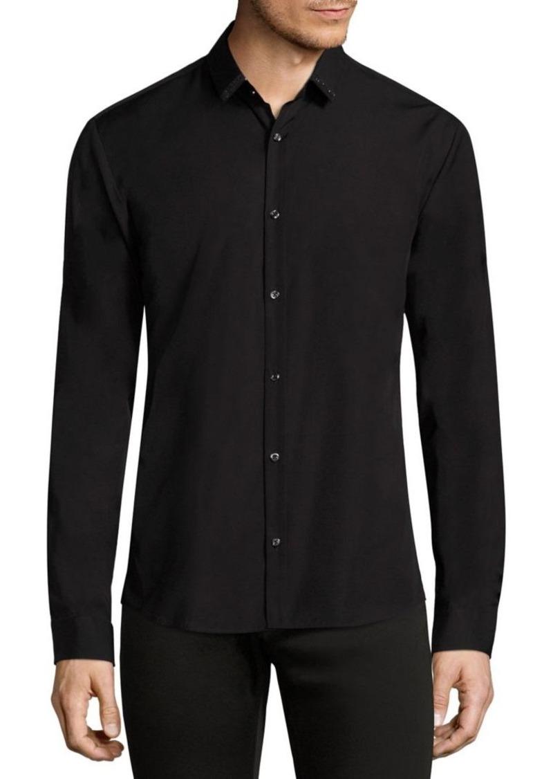HUGO BOSS Ero3 Ribbon Trimmed Shirt