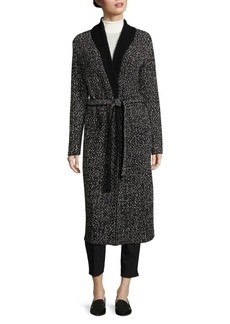 HUGO BOSS Farada Marled Wrap Coat