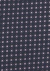 Hugo Boss BOSS Geometric Silk Skinny Tie