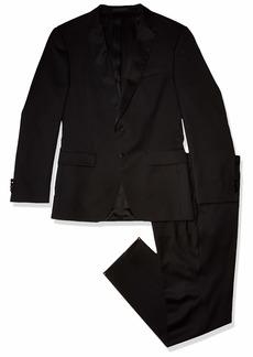Hugo Boss BOSS Men's Solid Contemporary Slim Fit Tuxedo