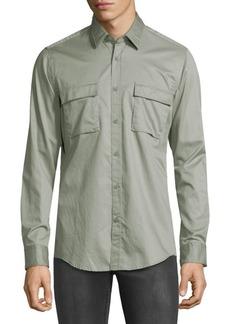Hugo Boss Lorin Flap Pocket Shirt