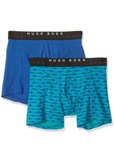 Hugo Boss Men's Boxer Brief 2P Print CO/EL