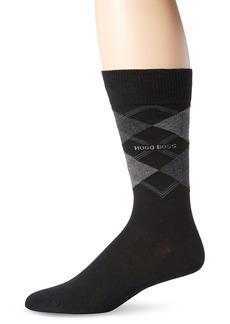 HUGO BOSS Men's James Argyle Crew Sock  /Shoe Size 6-12