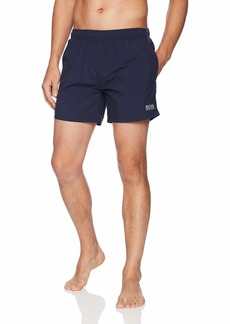 Hugo Boss Men's Perch Swim Trunk with Logo
