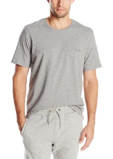 Hugo Boss Men's Shirt Rn Ss  Grey