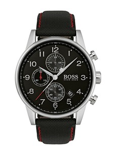 HUGO BOSS Navigator Stainless Steel Strap Watch