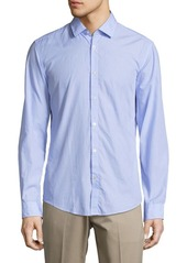 HUGO BOSS Nemos Cotton Casual Button-Down Shirt
