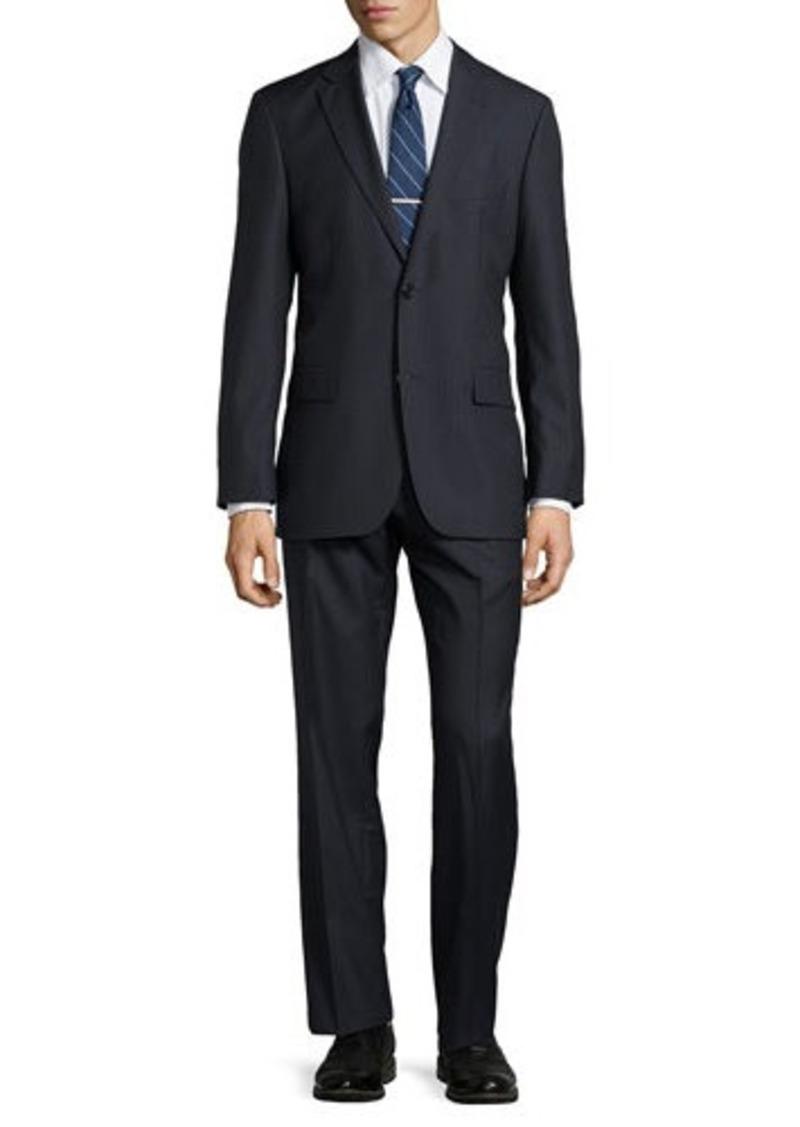 hugo boss hugo boss paolini tonal striped suit suits. Black Bedroom Furniture Sets. Home Design Ideas