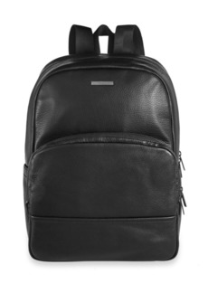 HUGO BOSS Pebbled Leather Backpack