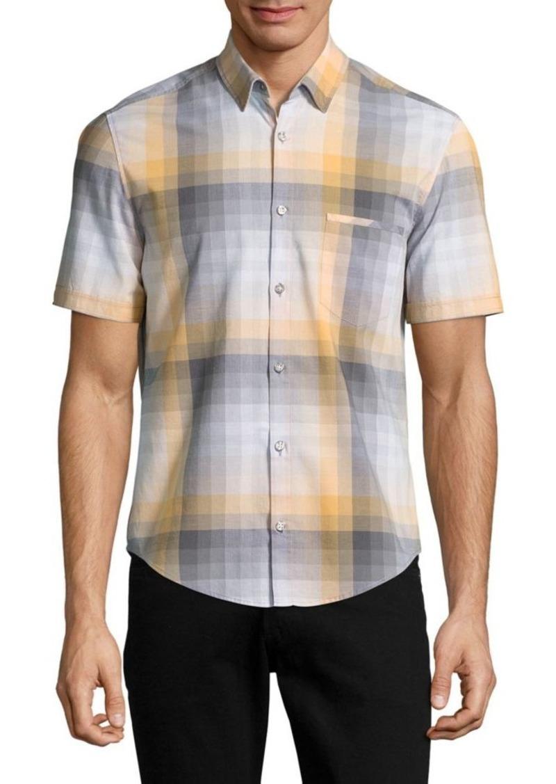 Hugo Boss Hugo Boss Plaid Sportshirt Casual Shirts