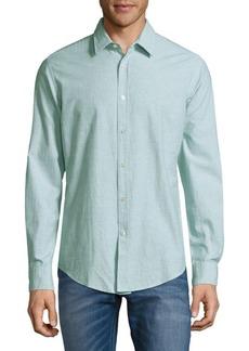 Hugo Boss Ronni Marled Button-Front Shirt