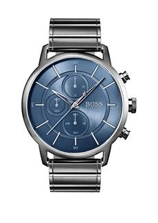 HUGO BOSS Round Chronograph Bracelet Watch