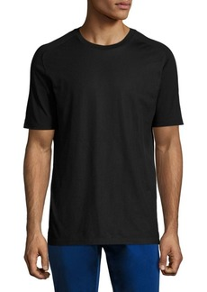 Hugo Boss Short Sleeve Mesh Overlay Tee