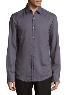 Hugo Boss Simon Cotton Casual Button-Down Shirt