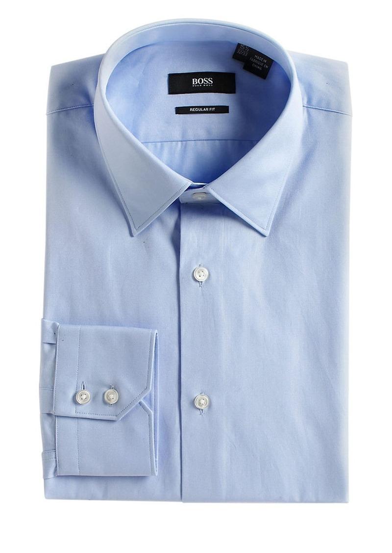 Hugo boss hugo boss slim fit cotton dress shirt dress shirts for Hugo boss formal shirts