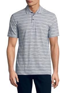 HUGO BOSS Striped Cotton Polo