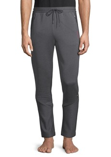 HUGO BOSS Striped Ottoman Joggers
