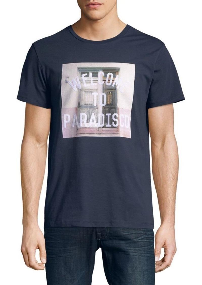 6c9dfa6c Hugo Boss HUGO BOSS Tauno Graphic Cotton Tee | T Shirts