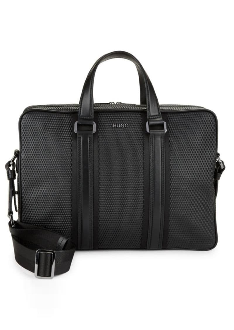 0195dcc4b Hugo Boss HUGO BOSS Textured Crossbody Briefcase | Bags