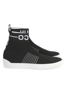 HUGO BOSS Zero Hito High-Top Knit Sneakers