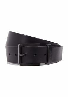 HUGO by Hugo Boss Men's Gionios Italian Leather Belt black