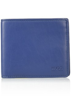 HUGO by Hugo Boss Men's Subway 8 Credit Card Pocket Wallet dark blue ONE SIZE