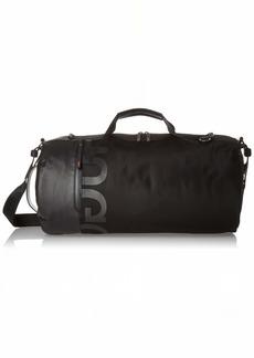 HUGO by Hugo Boss Men's Tech Nylon Holdall Duffel Bag black