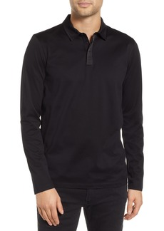 Hugo Boss HUGO Dalendar Mercerized Cotton Slim Fit Polo Shirt