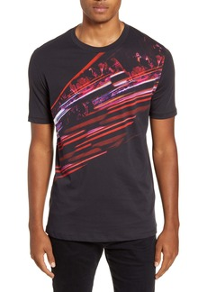 Hugo Boss HUGO Dallpaper North Cotton Crewneck T-Shirt