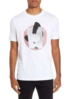 Hugo Boss HUGO Dare2 North Cotton Crewneck T-Shirt