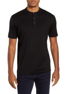 Hugo Boss HUGO Daspen North Cotton Henley T-Shirt