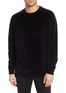 Hugo Boss HUGO Delvet Velvet Crewneck Sweatshirt