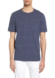 Hugo Boss HUGO Denily Slim Fit Striped Pocket T-Shirt