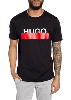 Hugo Boss HUGO Dolive193 Redacted Logo T-Shirt