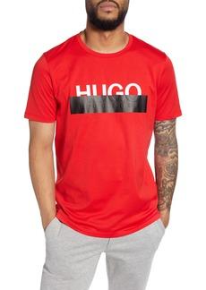 Hugo Boss HUGO Dolive193 Redacted Logo T-Shirt