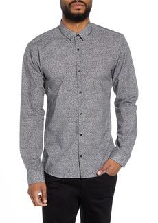 Hugo Boss HUGO Ero Extra Slim Fit Print Sport Shirt