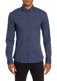 Hugo Boss HUGO Ero3-W Slim Fit Print Sport Shirt